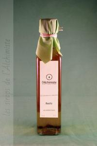 Sirop artisanal Basilic
