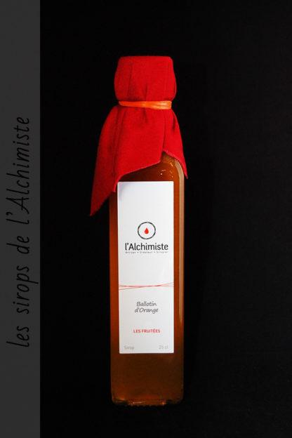 Sirop artisanal Ballotin d'Orange