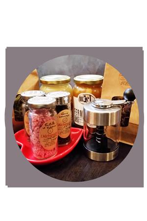 Sirops Condiments et Épicerie fine